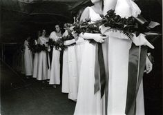 This photo is from a Ring Dance in the late 1960s.