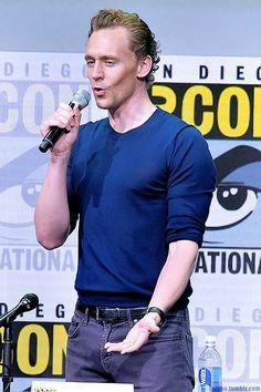 Tom Hiddleston. (Edit by larygo.tumblr: http://larygo.tumblr.com/post/163456866441/x )