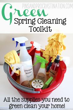 Green Spring Cleaning Toolkit