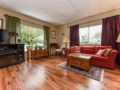Property 2240 Fearon Road Unit Campbell River, has 2 bedrooms, 1 bathrooms with 1196 square feet. Mobile Offers, Office Names, Remodeling Mobile Homes, Open Plan, Country Living, Countertops, Real Estate, Backyard, The Unit