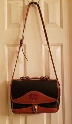 76f23deef5 Dooney and Bourke Pebble Leather Navy Blue crossbody bag
