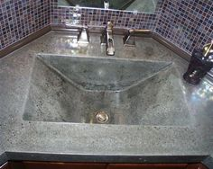 Modern, Polished  Concrete Sinks  Creative Custom Concrete Concepts LLC  Anacortes, WA