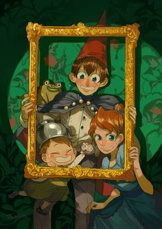 over the garden wall | Two hairs Tumblr