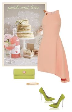 """""""Sem título #322"""" by soleuza ❤ liked on Polyvore featuring Halston Heritage, Lodis and Luna Skye"""