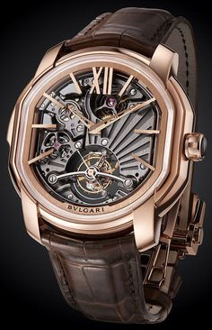 Bulgari Carillon Tourbillon With A Complicated Carillon And A Thinner Pink Gold Case