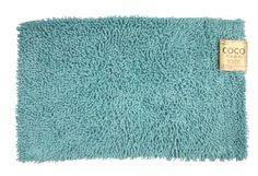 """100% Cotton Chenille High File Shaggy 1pc Bath Rug(aqua sea) by Croverinc. $8.99. Size : 19.7"""" x 31.5"""". Machine Wash Cold. Use Mild Detergent. Tumble Dry Low. 100% Cotton. Size : 19.7"""" x 31.5"""", 100% Cotton Chenille High File Shaggy 1pc Mat proves to be soft on the feet. Machine Washable Cold Water. Shower Mat. Chenille Mat."""