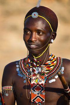 Africa | Young Samburu warrior. Kenya | © Johan Gerrits