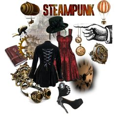 """""""Steampunk 2"""" by pam-kyle-mcglaughlin on Polyvore"""