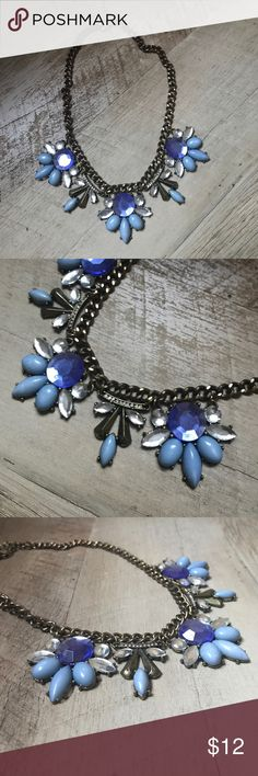 Blue Statement Necklace Gorgeous blue statement piece 🌊 Jewelry Necklaces