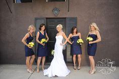 Combinação de cores para casamento azul e amarelo