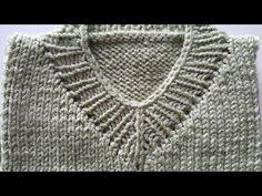 Sweater Knitting Patterns, Knitting Designs, Knit Patterns, Knitting Videos, Crochet Top, Sewing, Model, Fashion, Knitting Patterns