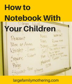 Notebooking is an amazing tool for homeschooling families! I have written about using this method a number of times, but I thought it might be fun if I made a little video explaining a few things a...