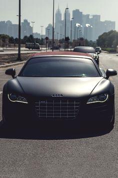 The majestic Audi R8.