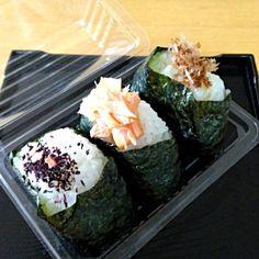 このところ土日のお弁当はおにぎりが多い? おいしいけどね。 - 49件のもぐもぐ - 2013年6月30日主人のお弁当  おにぎり by shinnriko