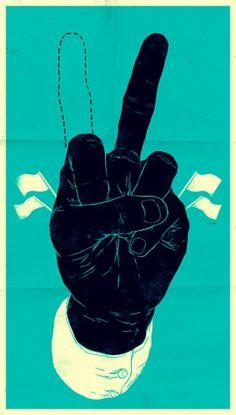 Paz ou Guerra? #@%$&%$.... Queremos é mais Humanidade!