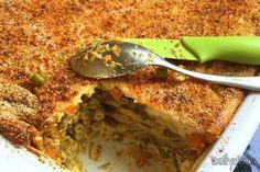 Νηστίσιμο (Βίγκαν) Παστίτσιο   Dailycious.gr Going Vegan, Lasagna, Vegan Recipes, Pasta, Fruit, Vegetables, Cooking, Ethnic Recipes, Food