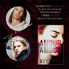 AMOUR AMOUR by Krista & Becca Ritchie + casting