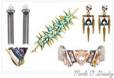 Amazing accessoires for the fashion-forward bride by Irish designer Merle O Grady
