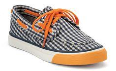 I love the blue & orange! Go Hope! @Becky Schmidt $60 at Sperry!