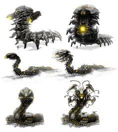 Destroyer_MK2 by duster132.deviantart.com on @DeviantArt Robot Concept Art, Concept Weapons, Science Fiction Art, Transformers, Character Creation, Character Design, Robot Animal, I Robot, Dnd Monsters