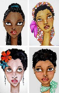 Natural hair art...