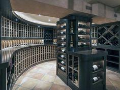 Top 80 Best Wine Cellar Ideas - Vino Room Designs Best Wine Coolers, Home Bar Areas, Home Wine Cellars, Wine Cellar Design, Home Bar Designs, In Vino Veritas, Italian Wine, Furniture Layout, House Design