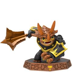 Tri-Tip - Skylanders Imaginators Even though they are made for kids some of these have amazing character design that i want to incorporate into larp outfits