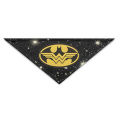 ALIIXUN2 Batman And Wonder Women Pets Dogs Cats Puppy Bandana Bibs Triangle Head Scarfs Accessories *** Don't get left behind, see this great dog product : Dog Bandanas