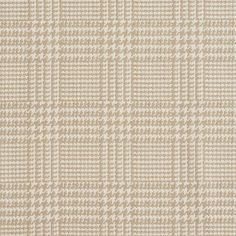 Beige or Tan or Taupe and White or Off-White color Check or Houndstooth and Country or Lodge or Cabin and Plaid pattern Damask or Jacquard and Tweed or Textures and Fade Resistant type Upholstery Fabric called LINEN by KOVI Fabrics Living Room Ideas 2018, Striped Upholstery Fabric, Taupe, Beige, White Plaid, Gingham, Off White Color, Plaid Pattern, Discount Designer