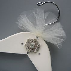 Wedding Dress Hanger - Vintage Adorned