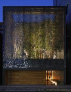 on something, Hiroshi Nakamura| Optical Glass House, 2012...