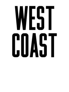 """""""West Coast"""" Stickers by ARTP0P 