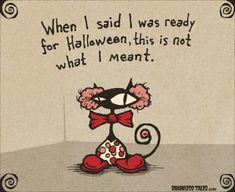 Happy Halloween! » Funny Halloween Cat » brainlesstales.com