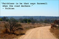 Tolkien Quote - Picture = South Africa