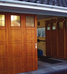 sliding garage doorside sliding garage door  Google Search  garage  Pinterest