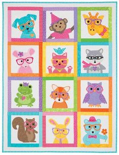 SEW CUTE CRITTERS KIT- Product Details | Keepsake Quilting