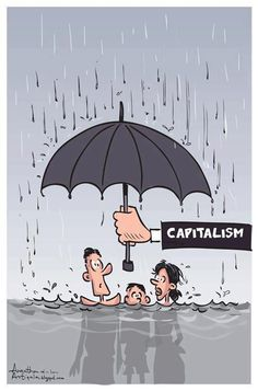 essay on capitalism Reading Thomas Piketty: A Critical Essay – Philosophers for Change Pictures With Deep Meaning, Art With Meaning, Political Art, Political Cartoons, Satirical Illustrations, Meaningful Pictures, Deep Art, Social Art, Powerful Images