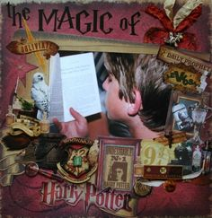 The Patatopatch: Harry Potter meets scrapbooking..........