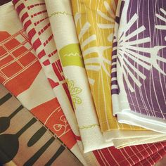 Instagram pic of Skinny laMinx tea towels by @julochka 