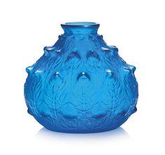 Lalique fougères vase, no. 923