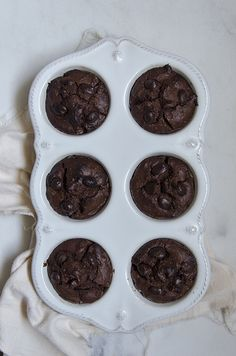 Chocolate Peanut Butter Muffins