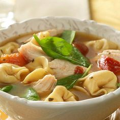 Slow Cooker Turkey Tortellini Soup