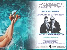 Here is it…the moment you've all been waiting for!!!  This Sunday, June 3rd 2012, we will have Hard Rock Sofa spinning at the #GansevoortSummer Series SEASON OPENER!  We couldn't be more excited for the weekend!   For table reservations please dial 646.380.5315 - see you all there!!!!