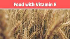 Learn more about food with vitamin E on Youtube... Foods With Vitamin E, Vitamins, Healthy Recipes, Youtube, Healthy Eating Recipes, Healthy Food Recipes, Vitamin D, Clean Eating Recipes, Youtubers