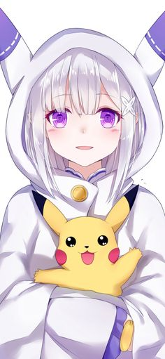 Anime Anime Girl Hot, Anime Girl Neko, Cute Anime Boy, Manga Girl, Anime Love, Anime Girls, Girl White Hair, Lolis Neko, Desu Desu