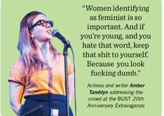 Amber Tamblyn is a straight-up badass