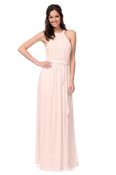 Shop Dove & Dahlia Bridesmaid Dress - Mia in Luxe Stretch Jersey at Weddington Way. Find the perfect made-to-order bridesmaid dresses for your bridal party in your favorite color, style and fabric at Weddington Way.