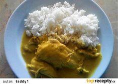 Rychlá slepice na kari recept - TopRecepty.cz Grains, Food, Meal, Essen, Hoods, Meals, Eten, Korn