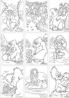 http://skgaleana.com/free-disney-tarzan-printables-coloring-pages-and-activities/