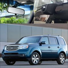 For Honda Pilot 2012 APP Control Car Wifi DVR Driving Video Recorder FHD 1080P Hidden installation car black box Car Dash Cam